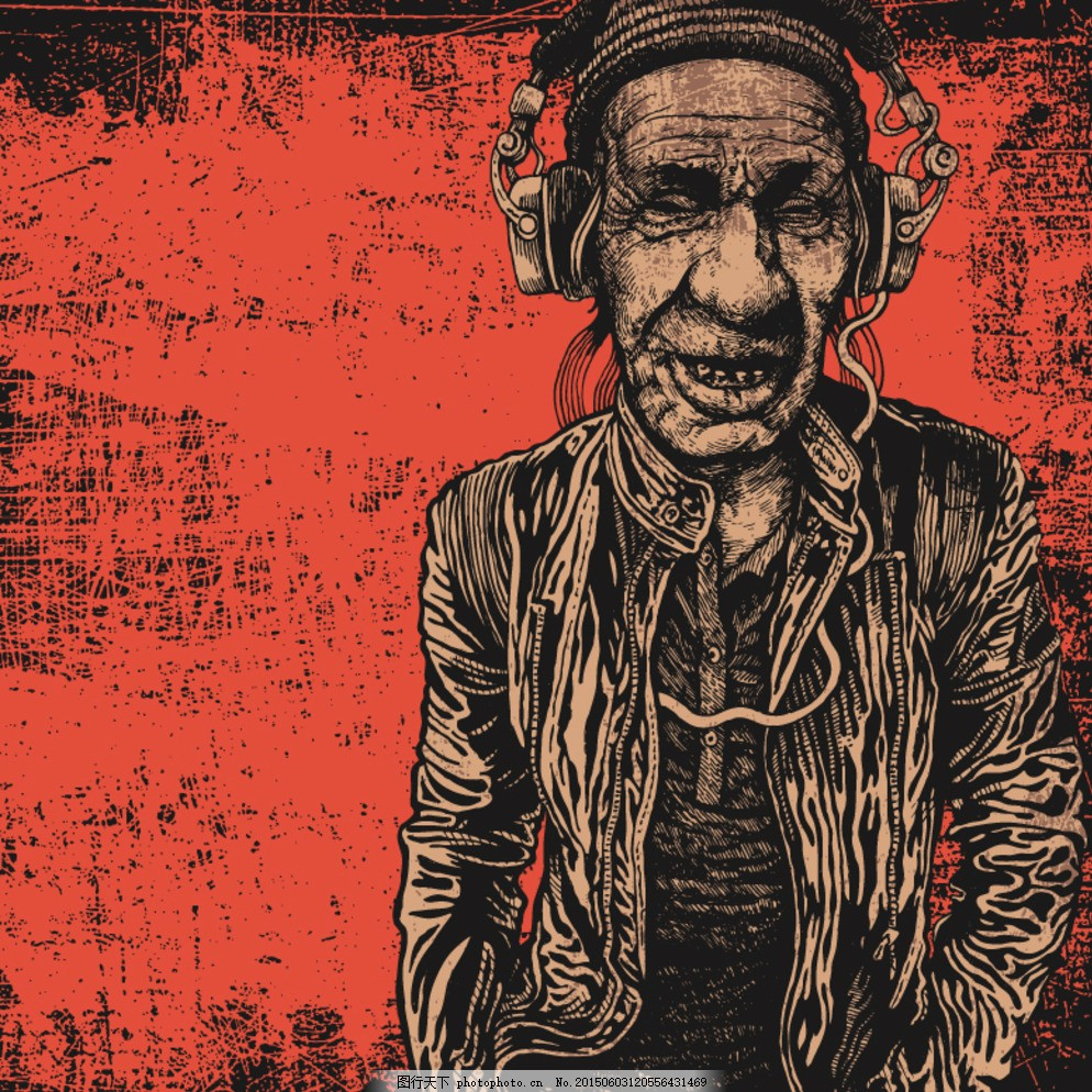 摇滚 摇滚乐 摇滚乐队 重金属音乐 非主流 纹身图案 摇滚海报