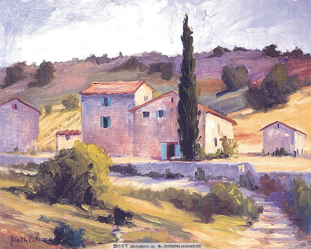 乡村建筑风景