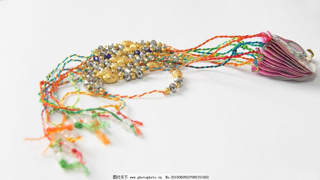 五彩绳 花绳 五彩丝 五色丝 端午节 摄影 生活百科 生活素材 254dpi