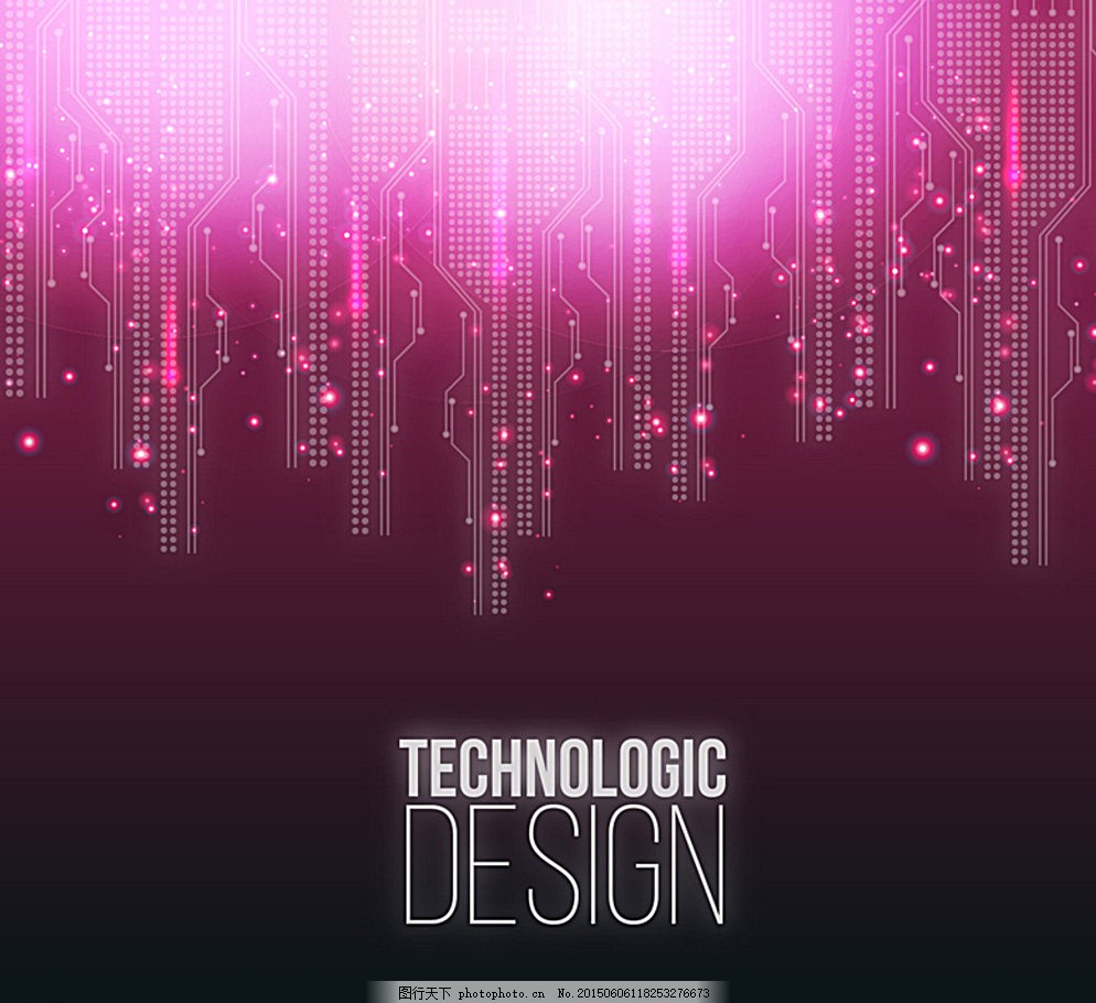 电路 光效 背景 矢量 素材 科技 电子 设计 广告设计 海报设计 ai