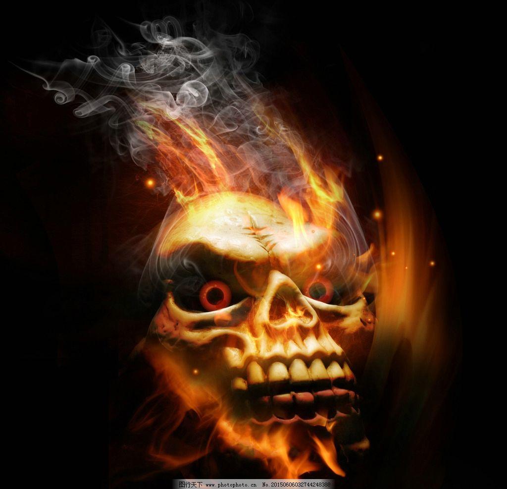 死神纹身图案 10款黑暗系纹身骷髅头死神纹身图案 - 纹身部落