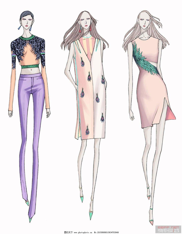 服装设计免费下载 材料 电脑设计 服装 服装 材料 电脑设计 服装设计