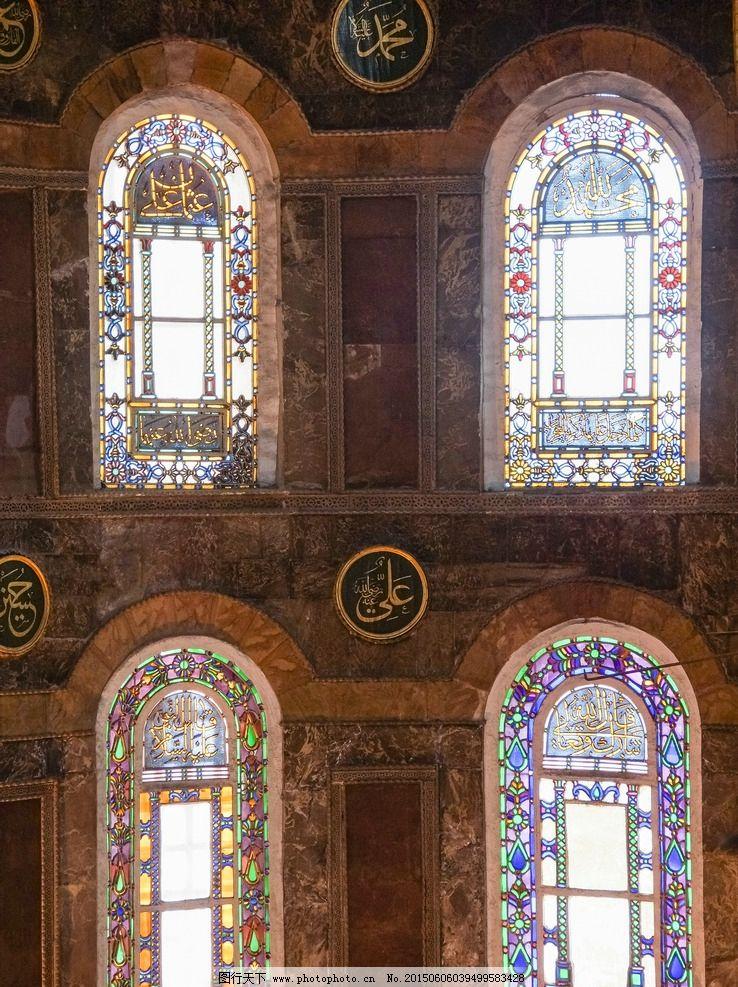 欧式古建筑窗户