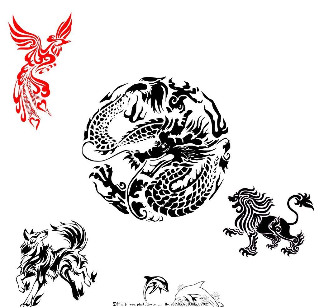 抽象 动物图片_其他_动漫卡通