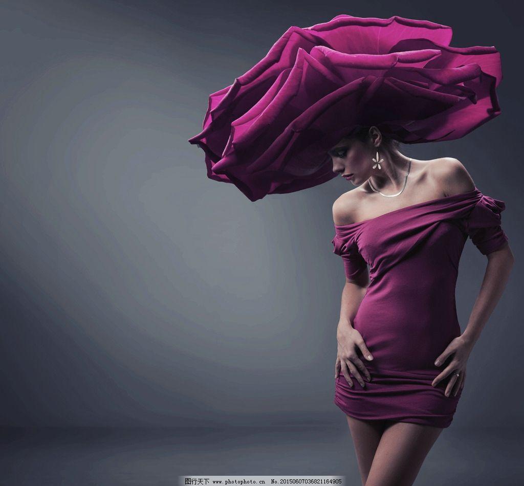 外国时装模特美女图片