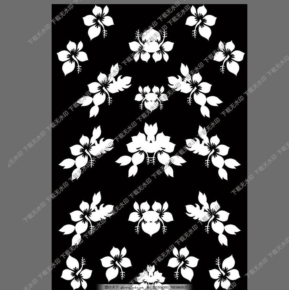 傳統手繪花型圖案 花紋 花紋圖案 衣服圖案 數碼印花 印花圖案