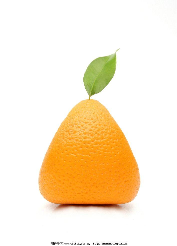 橘子创意水果图片