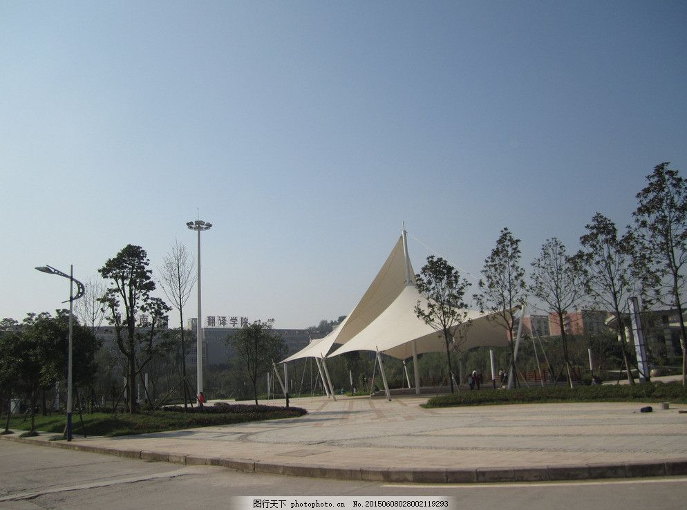校園風景 重慶南方翻譯學院 川外南方翻譯學院 大學風景 學生 攝影