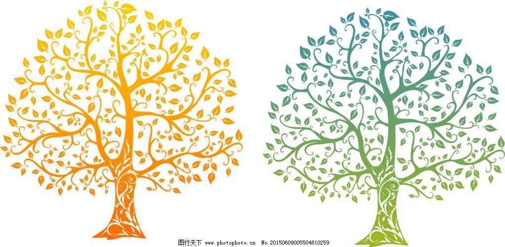 树形 矢量图