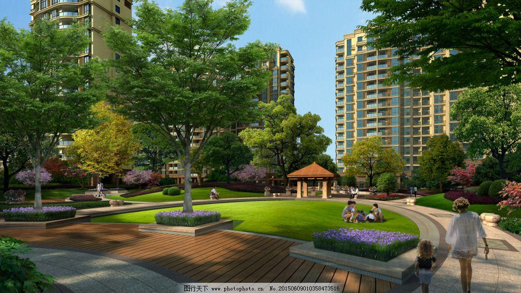 湖南住宅小区园林景观工程施工组织设计 景观,绿化,亮化