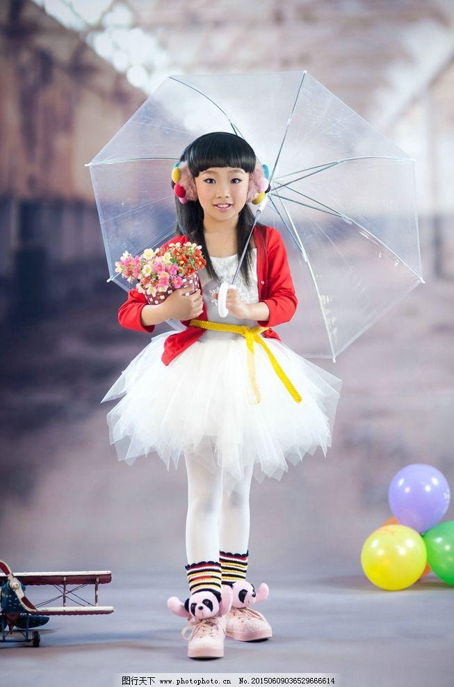 纯真的幸福 周岁照 影楼样片 可放大 可入册 气球 小女孩 小萝莉