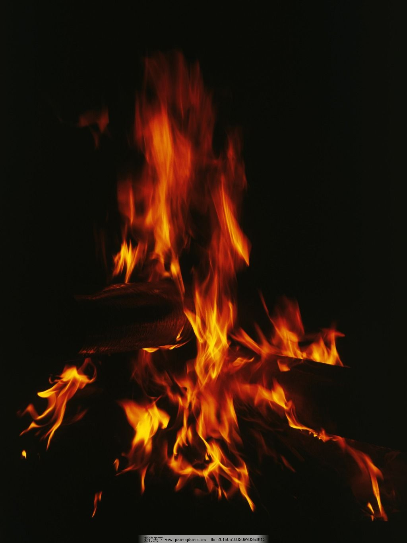 柴火火焰_背景图片_底纹边框