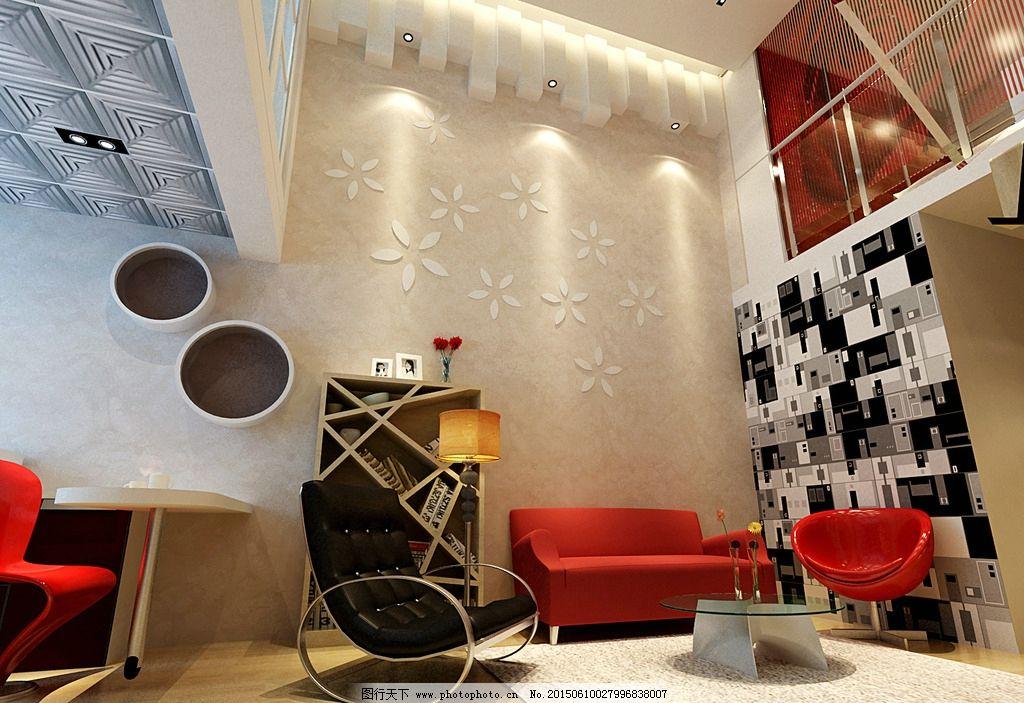 装修图 小户型 多功能 时尚 简约 黑白 复式 设计 环境设计 室内设计图片