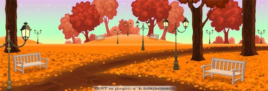 卡通动物形象 可爱卡通动物 卡通树 卡通形象 幼儿园 儿童简笔画