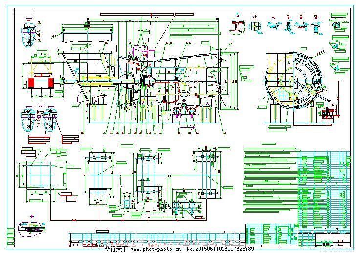 制冷压缩机组图纸免费下载 工业 机械 压缩机 制冷 工业 机械 螺杆