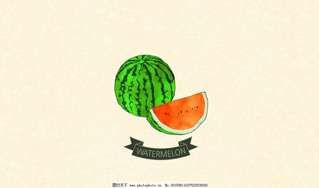 夏天西瓜壁纸图片