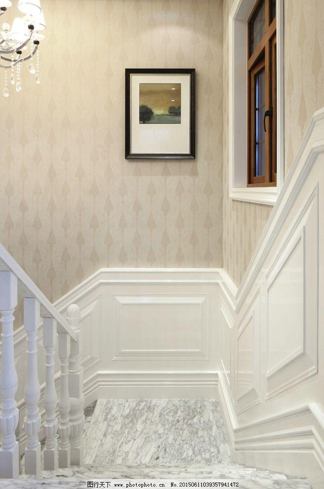 摄影图库 建筑园林 室内摄影  墙纸 阶梯 台阶 大理石 欧式古典装修