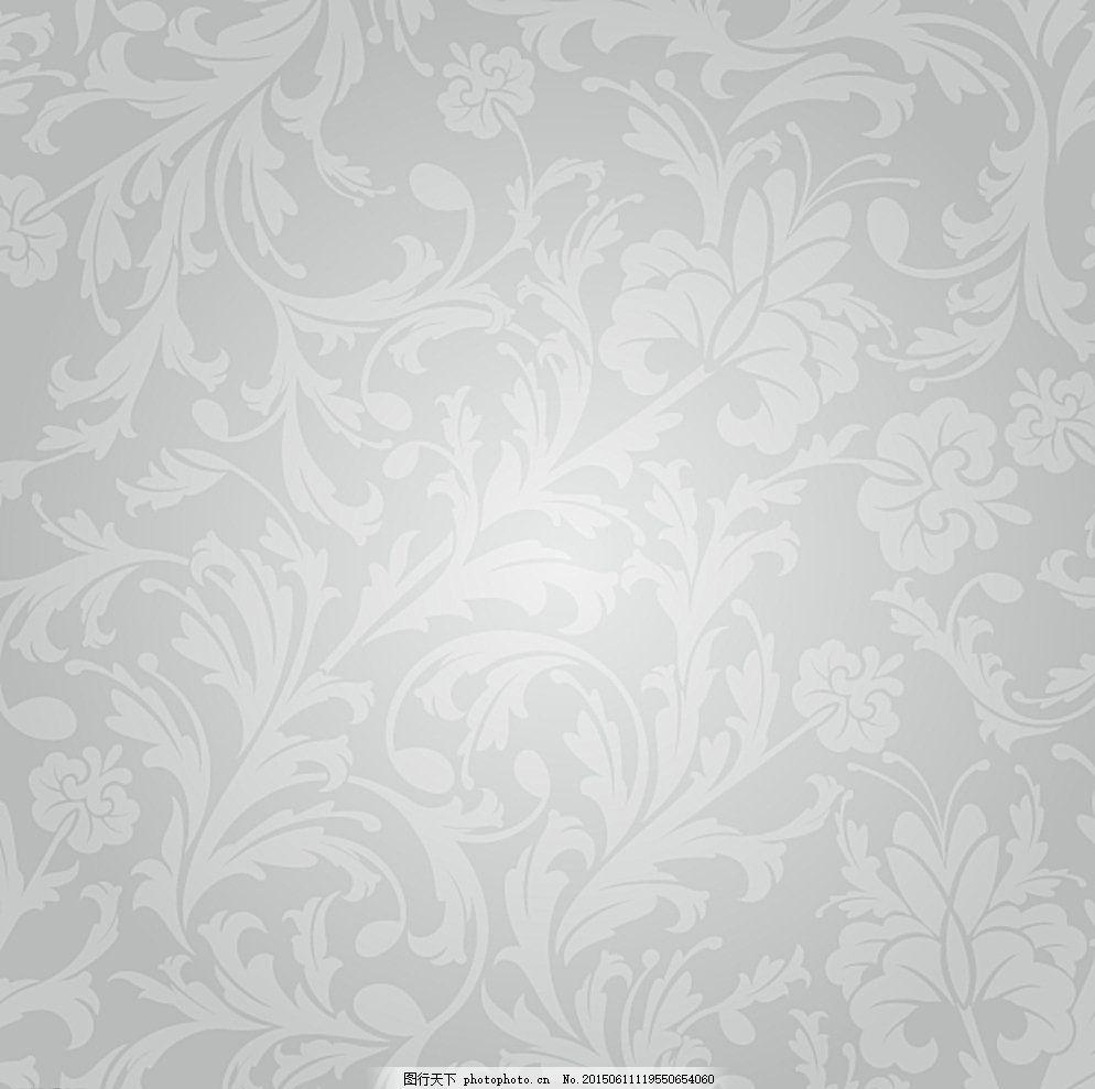 矢量花纹 底图 紫色花纹背景 墙纸花纹 欧式墙纸 底纹边框 红色图片