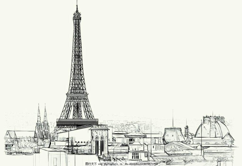 铁塔图片_绘画书法_文化艺术