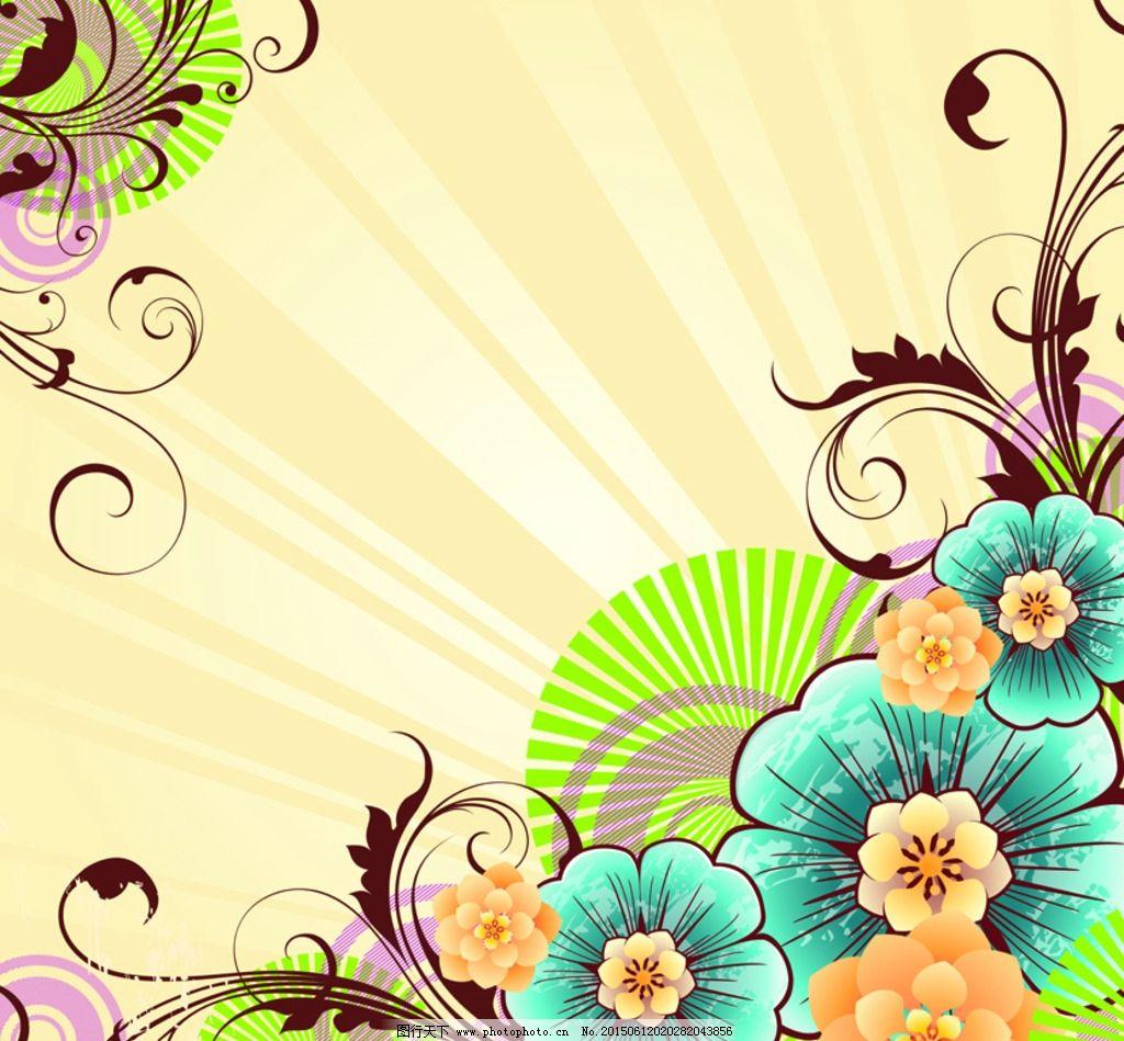 鲜花背景图片