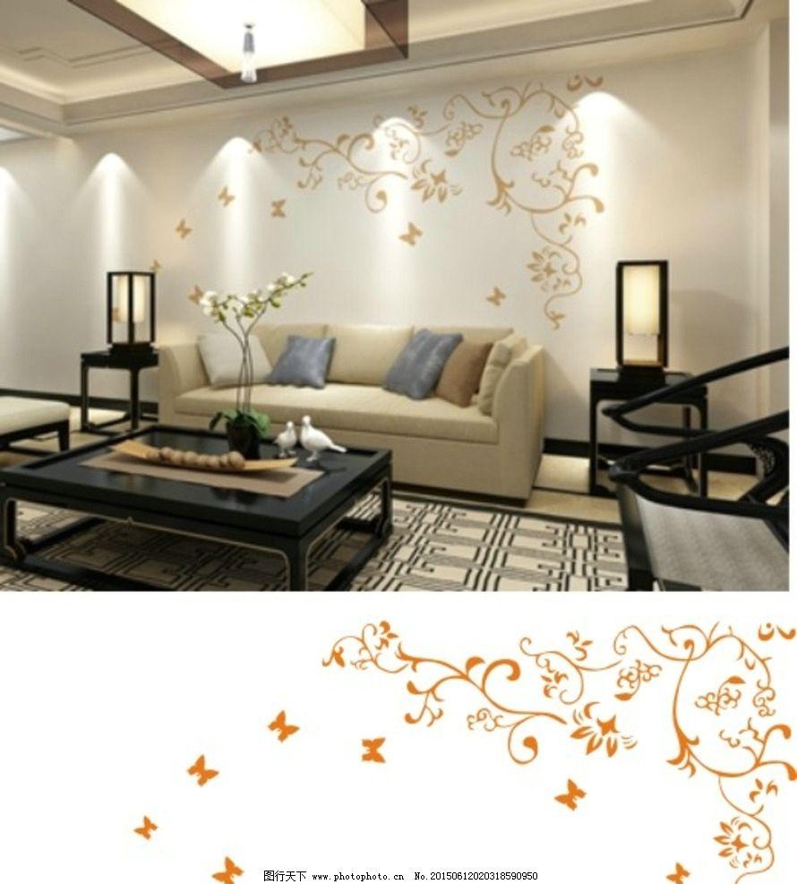 2016硅藻泥欧式沙发背景墙