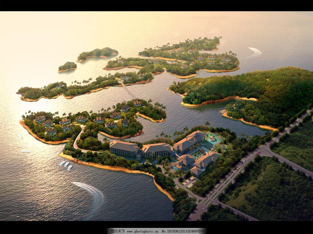海岛鸟瞰图免费下载 度假 海岛 建筑 鸟瞰 建筑 度假 海岛 鸟瞰 装饰