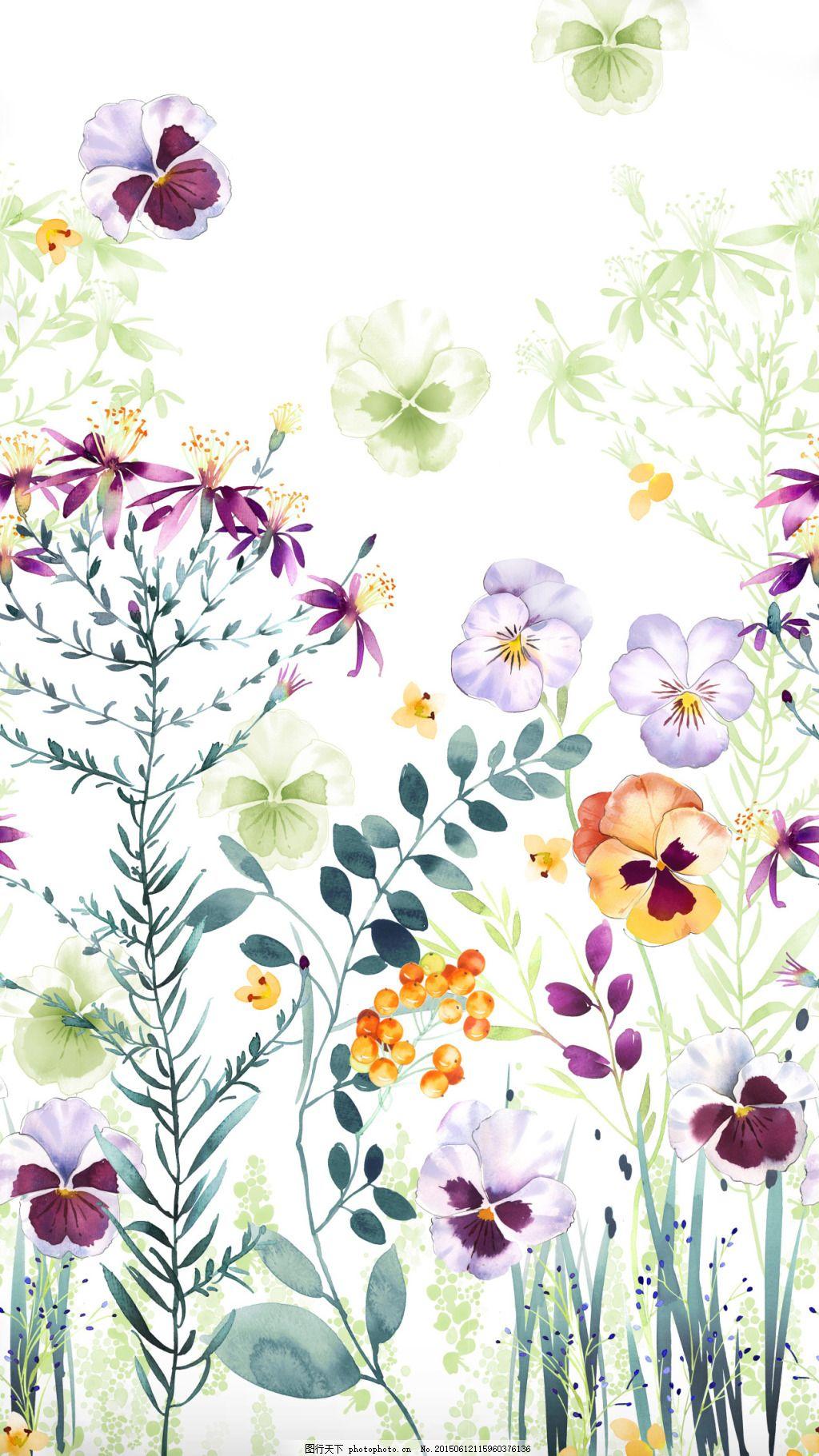水彩画叶子