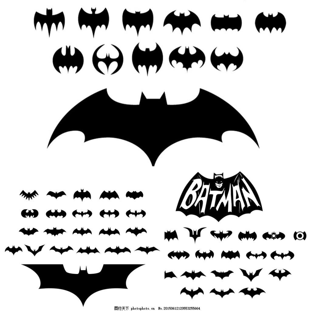 蝙蝠侠 标志 batman 电影 ai 白色 ai
