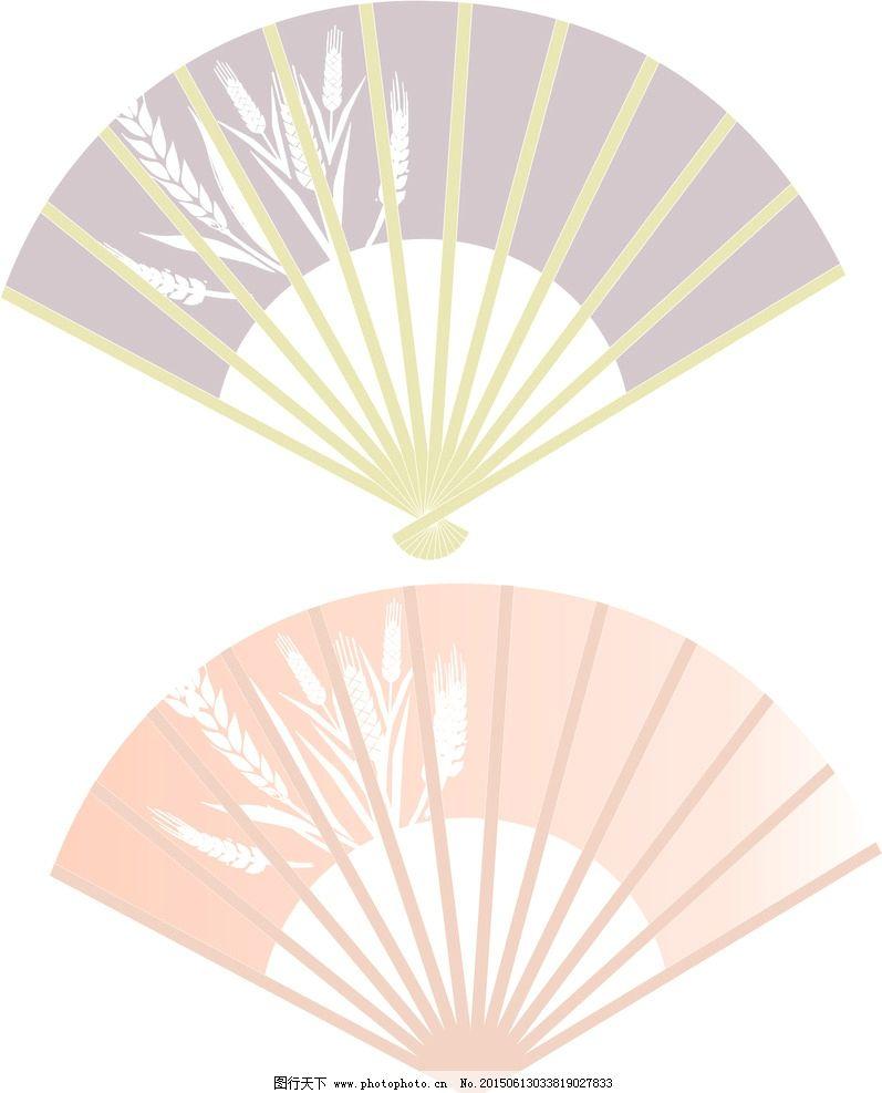 日式和风扇子图片