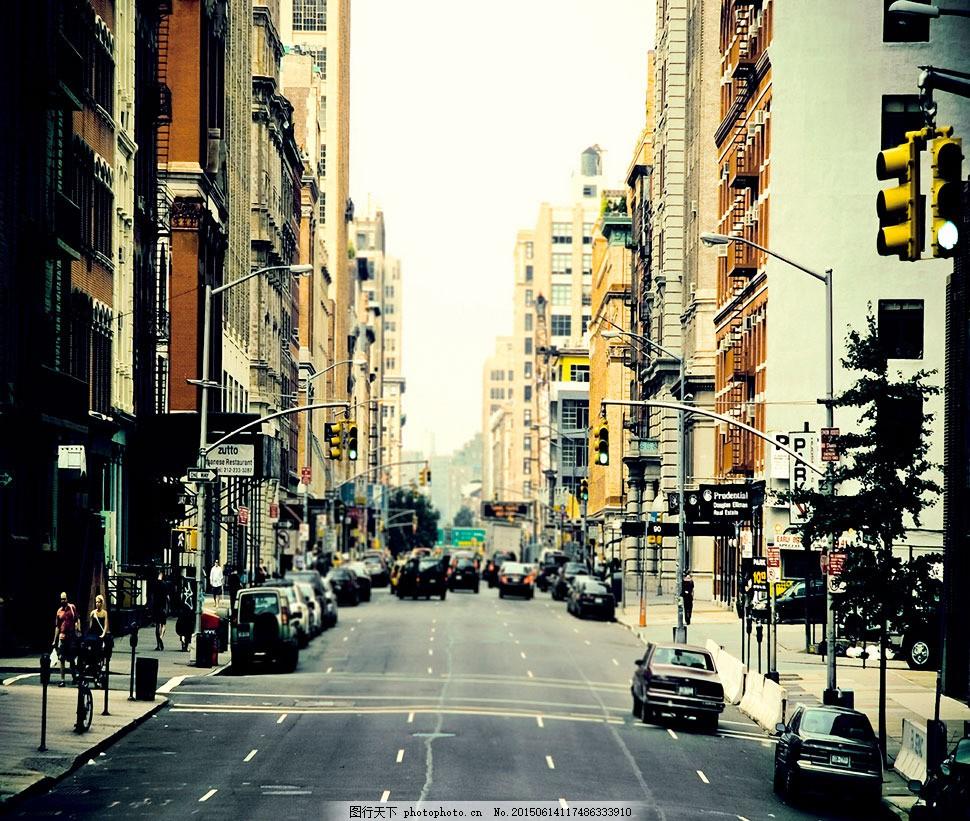 高楼林立的城市影楼摄影背景 影楼素材 影楼背景 喷绘背景 高清背景图片