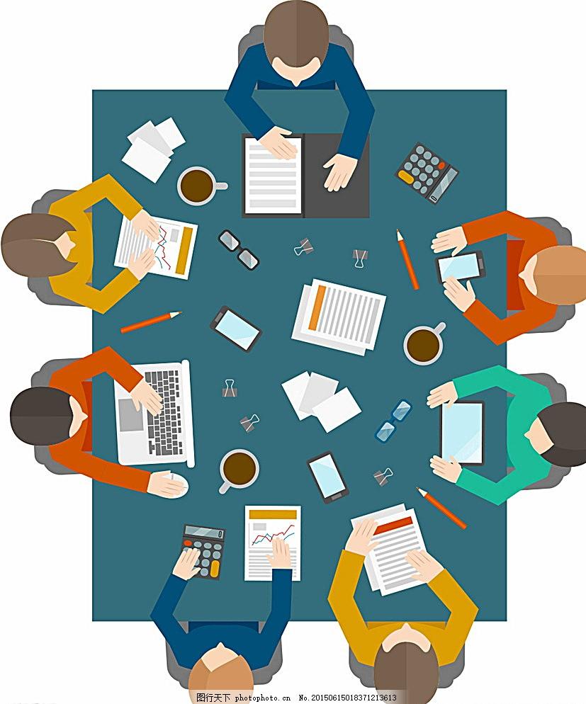会议 开会 洽谈 办公 团队 白领 商务人士 集体 工作 团体 商业 合作图片