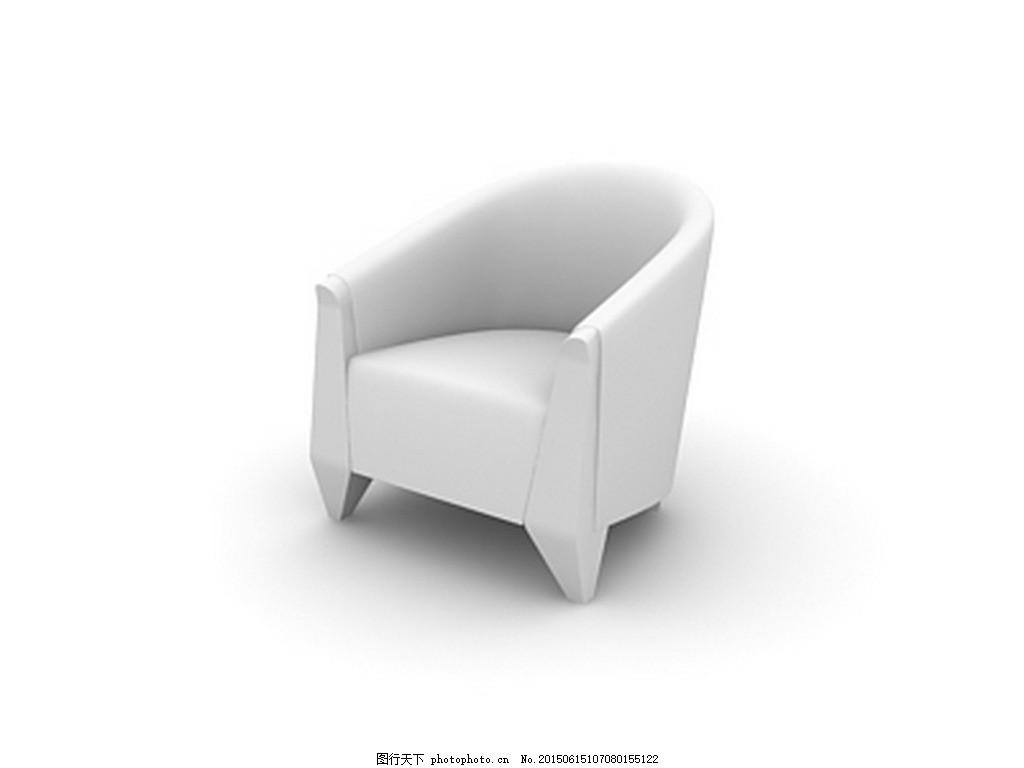 家具 模型 模具 凳子 室内设计 3d模型 凳子 椅子 家具 沙发 max 白