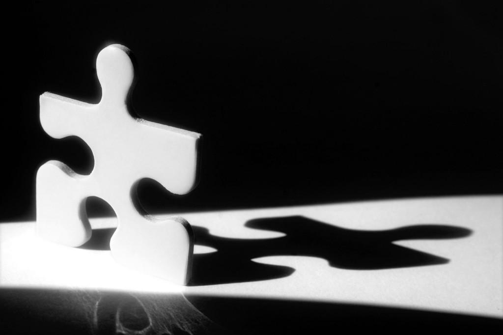 拼图投影免费下载 创意 拼图 影子 创意 拼图 影子 图片素材 商务金融图片