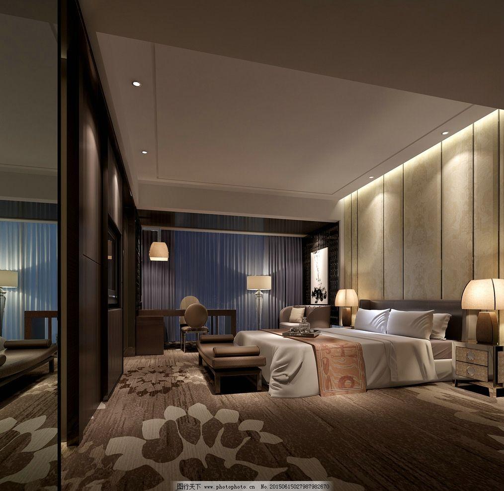 家装 室内设计 别墅      套房 主卧      设计图 实景图        3d