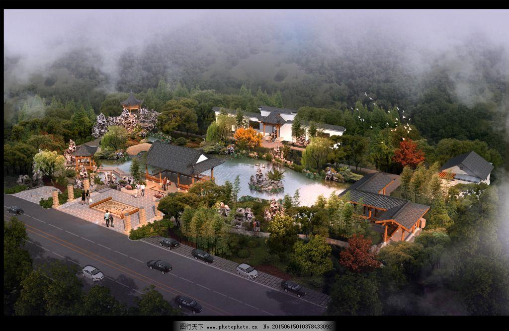 规划 景区 旅行 鸟瞰图 规划 景区 旅行 鸟瞰图 装饰素材 园林景观