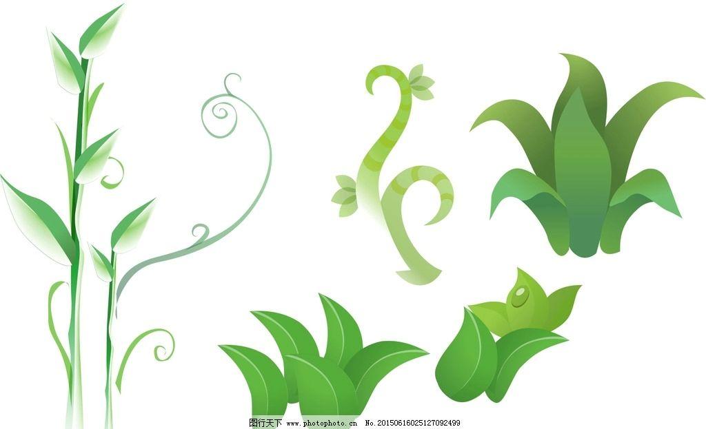 卡通绿藤图片