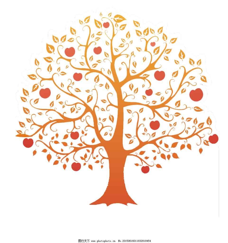 彩色 墙纸壁纸 手绘 树 彩色 树 手绘 墙纸壁纸 家居装饰素材 壁纸|墙