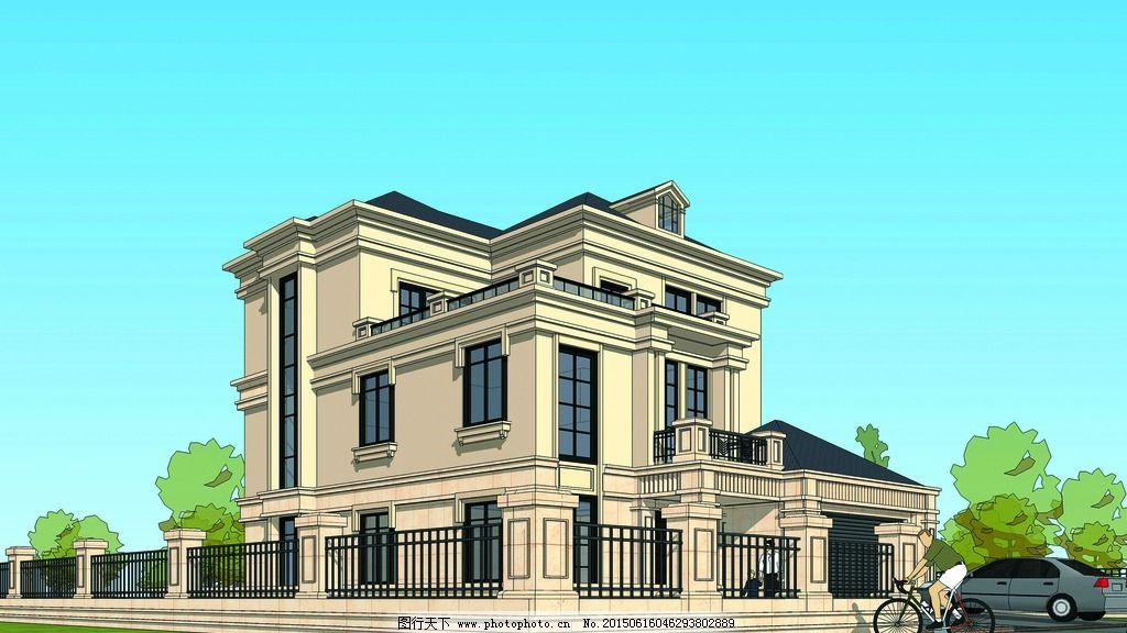 建筑外观 别墅设计