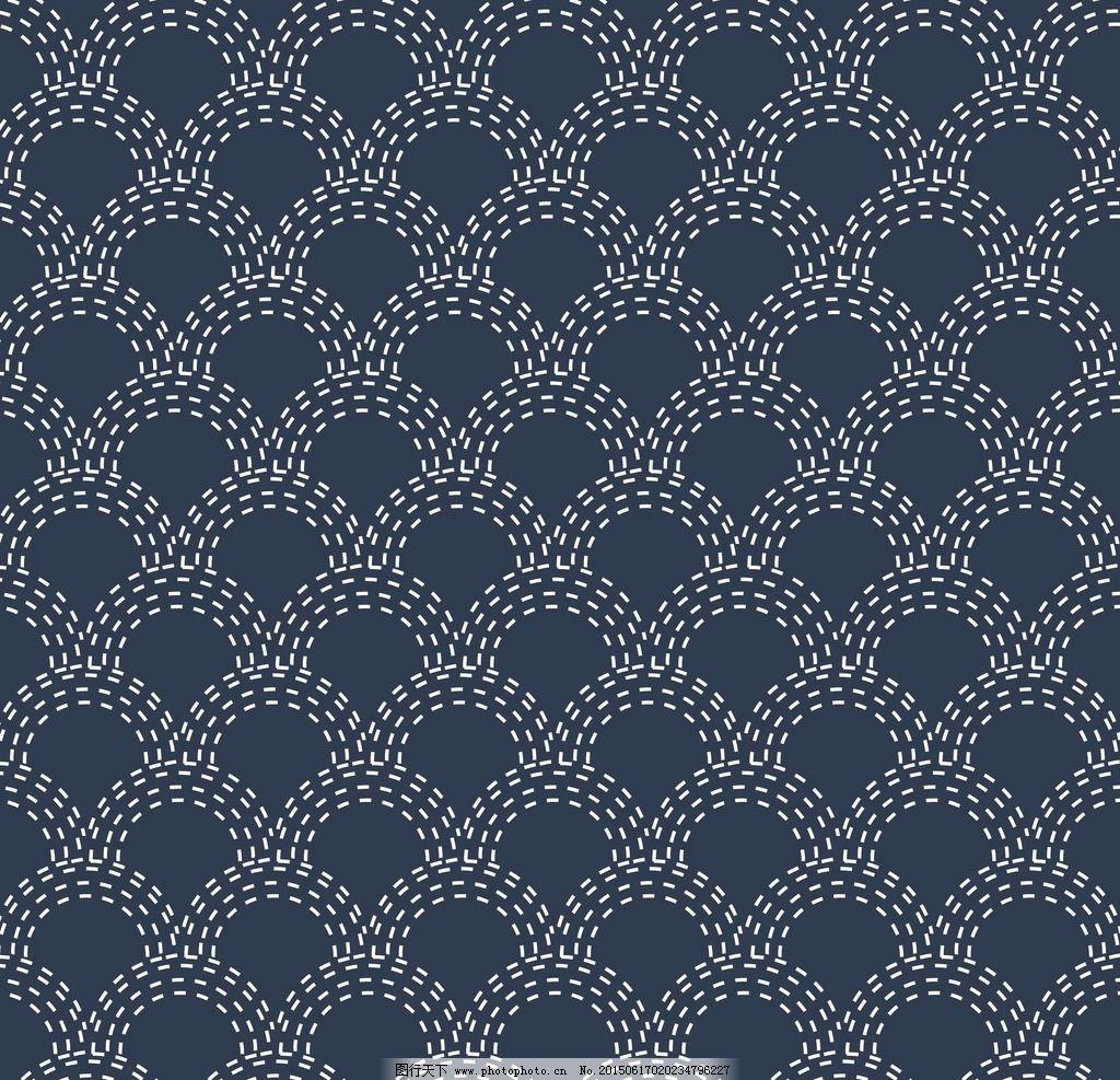 日式小清新手绘边框