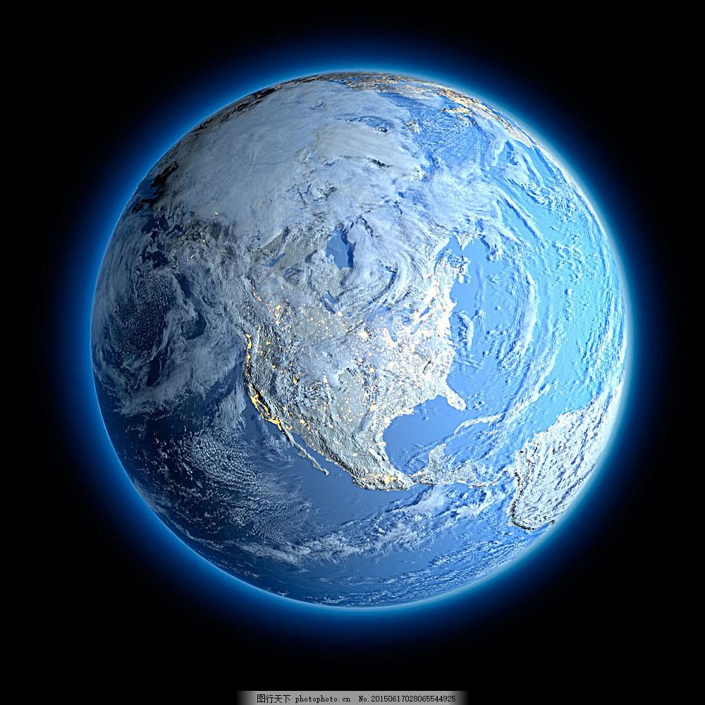 地球背景素材 地球模型 地球素材 立体图案 星球 地图 环保 创意图片