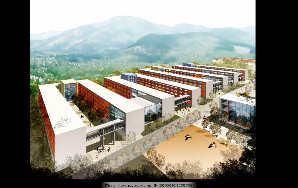 工业区 建筑 鸟瞰           建筑 工业区 鸟瞰 装饰素材 建筑设计