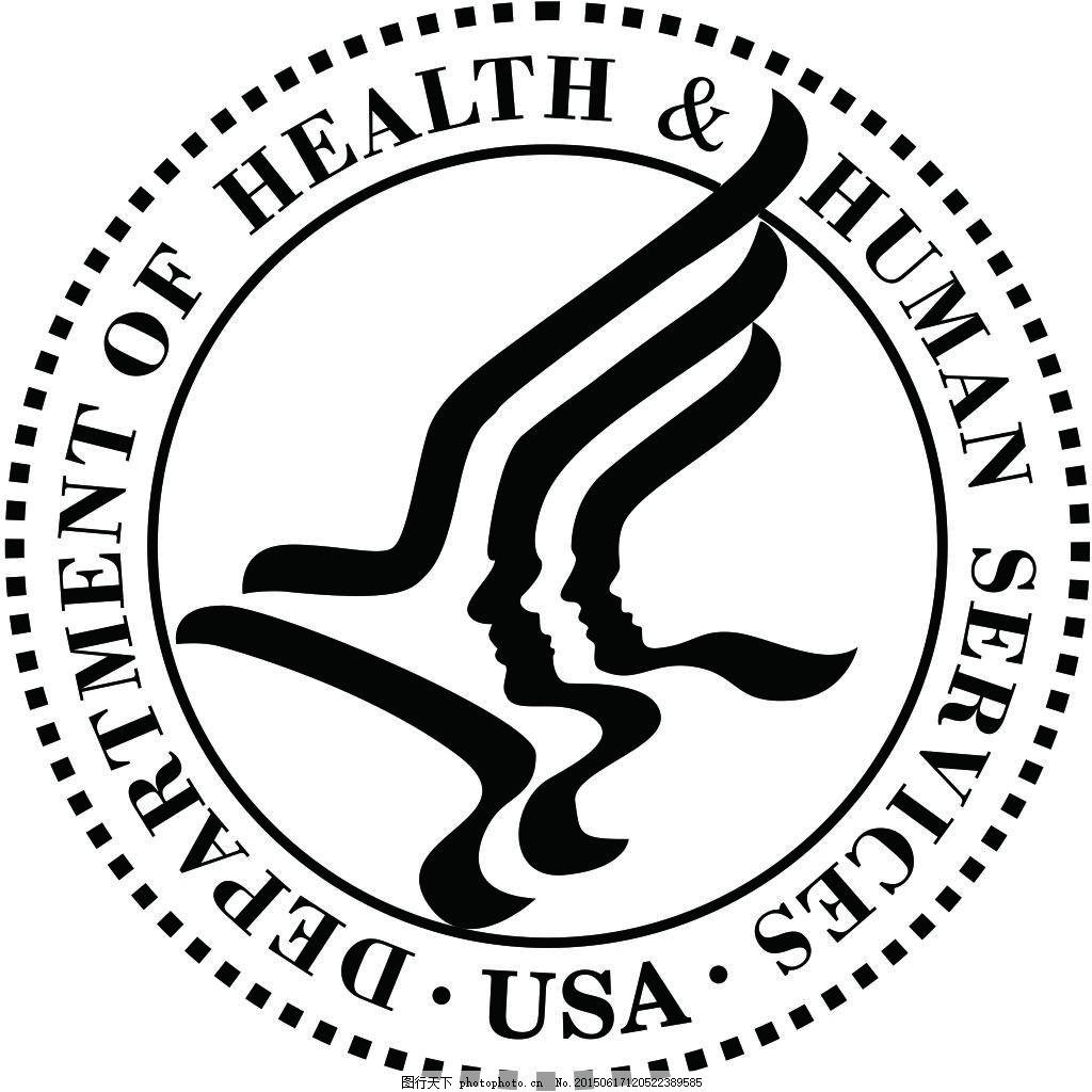 fda印章标识 美国fda标识 fda标志 镂空标志 cdr 白色 cdr