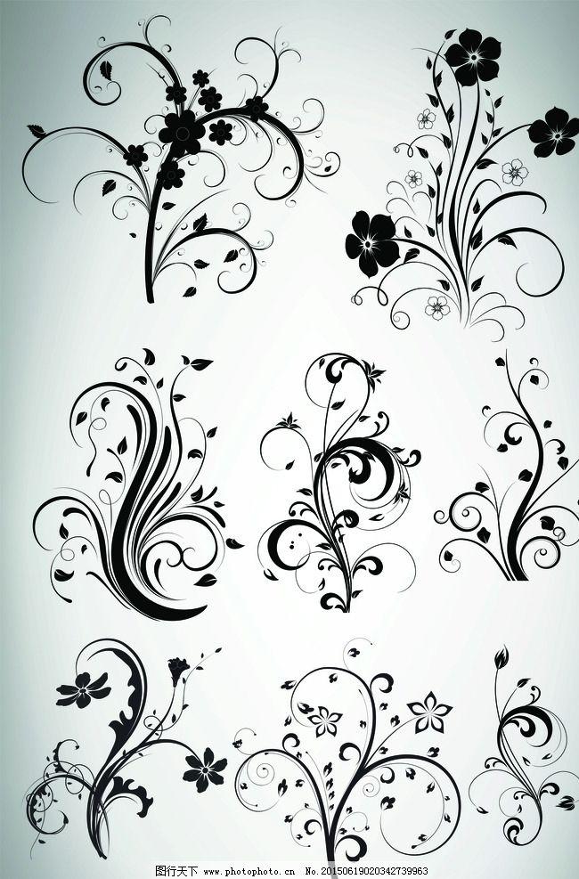 简笔画简约海报边框
