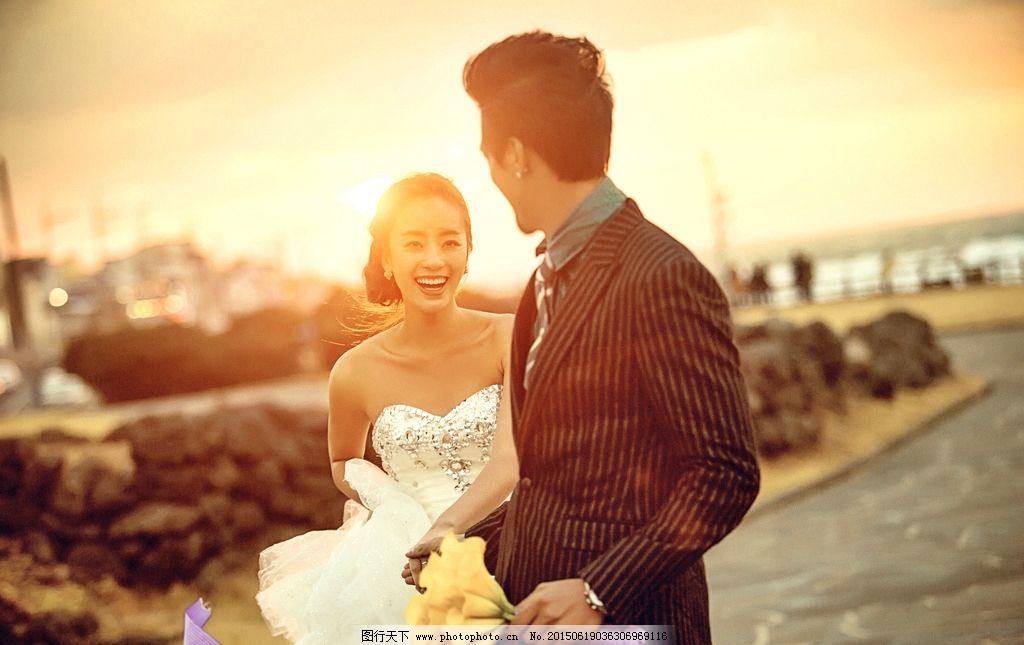 济州岛婚纱样片图片