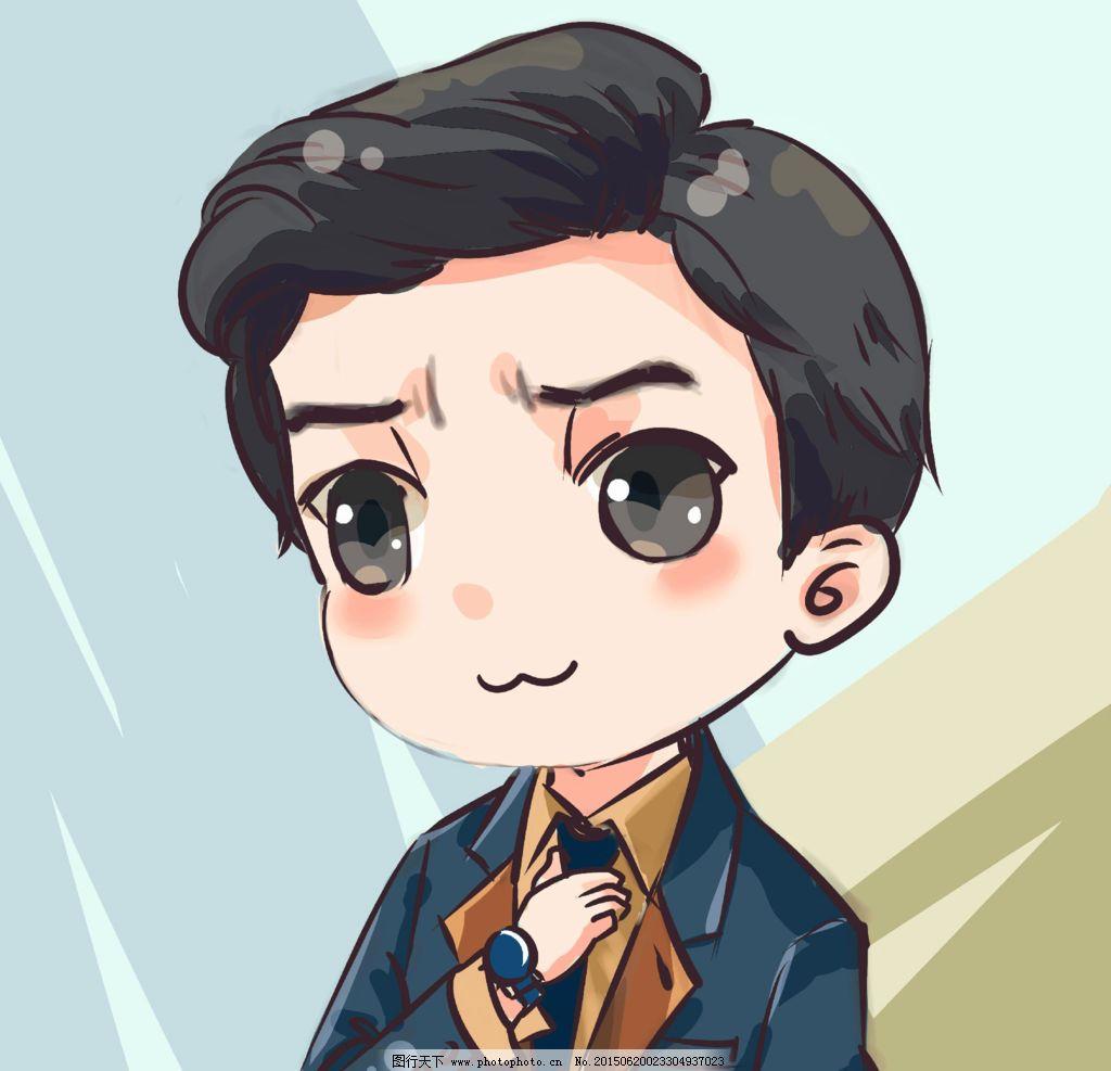 李健 手绘      可爱 可爱头像 帅哥 设计 人物图库 明星偶像 72dpi
