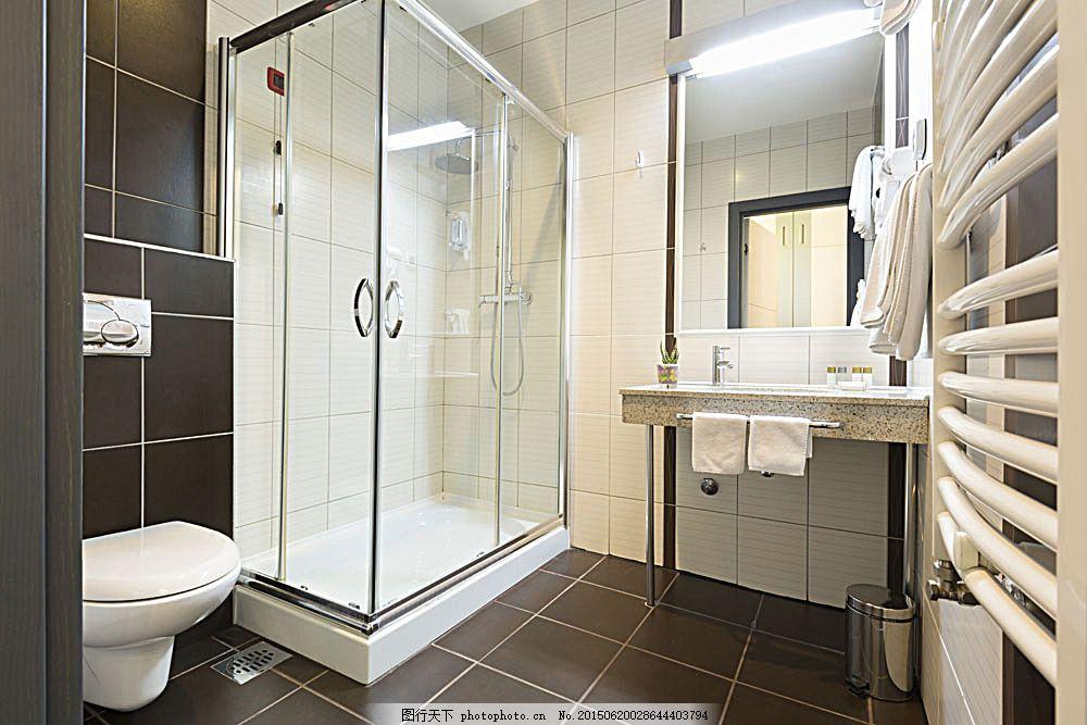 浴室装修效果图 洗手间装修设计 卫生间装修 室内设计效果图 室内装修