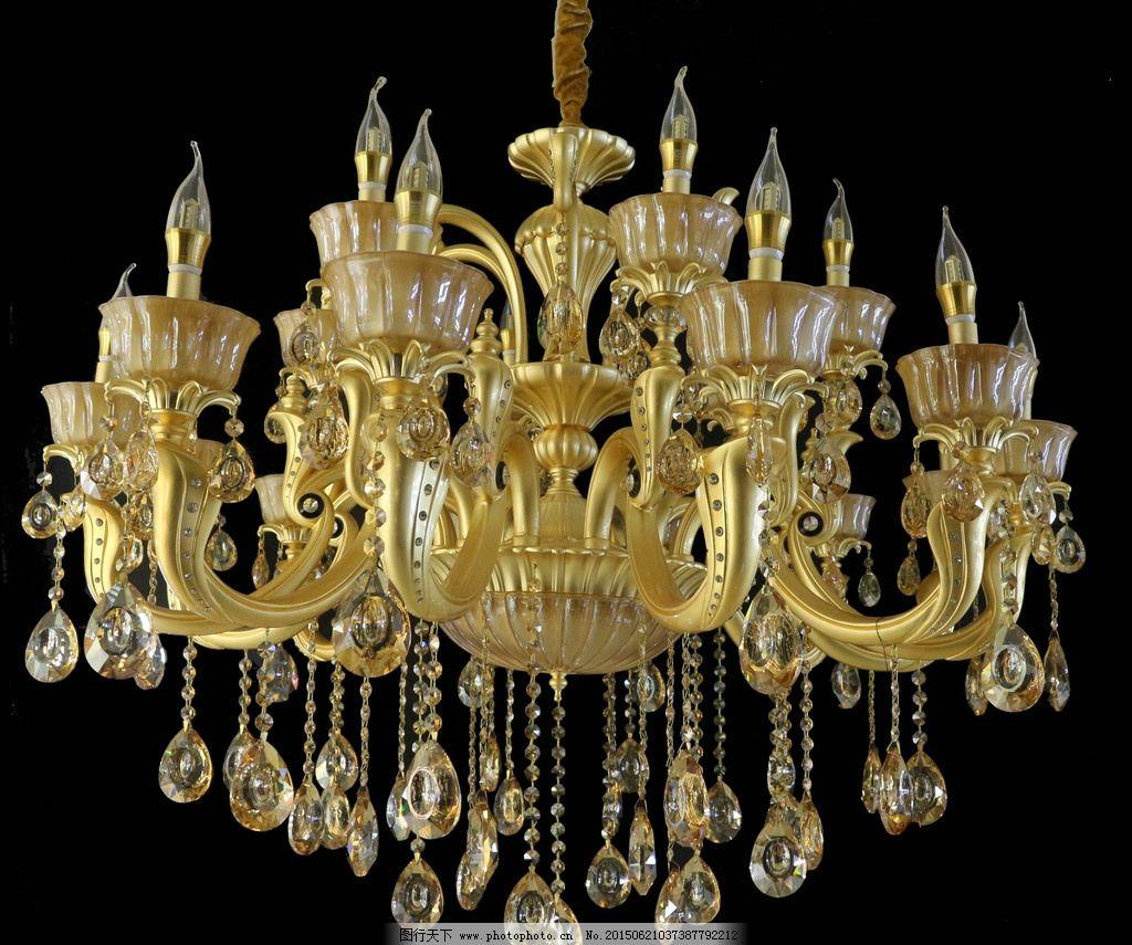 水晶灯 吊灯 玉石灯 欧式灯