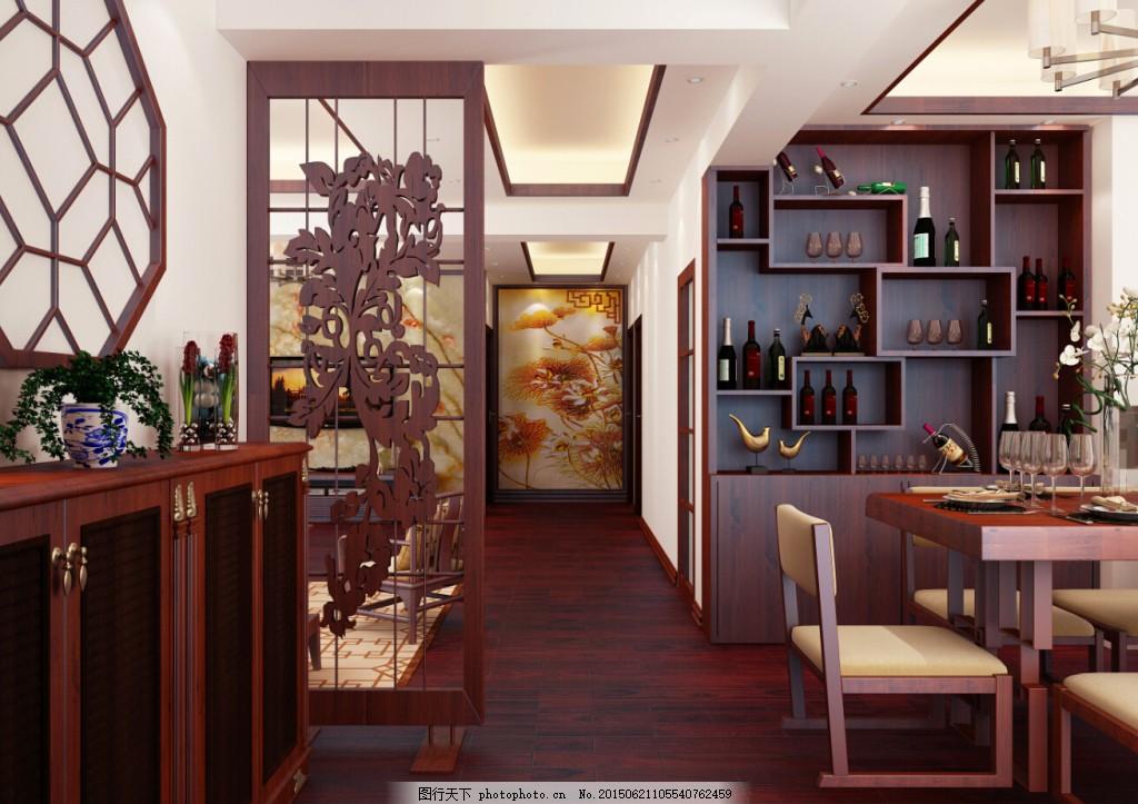 寻回东方韵-新中式 寻回东方韵新中式 室内设计 新中式风格 隔断设计