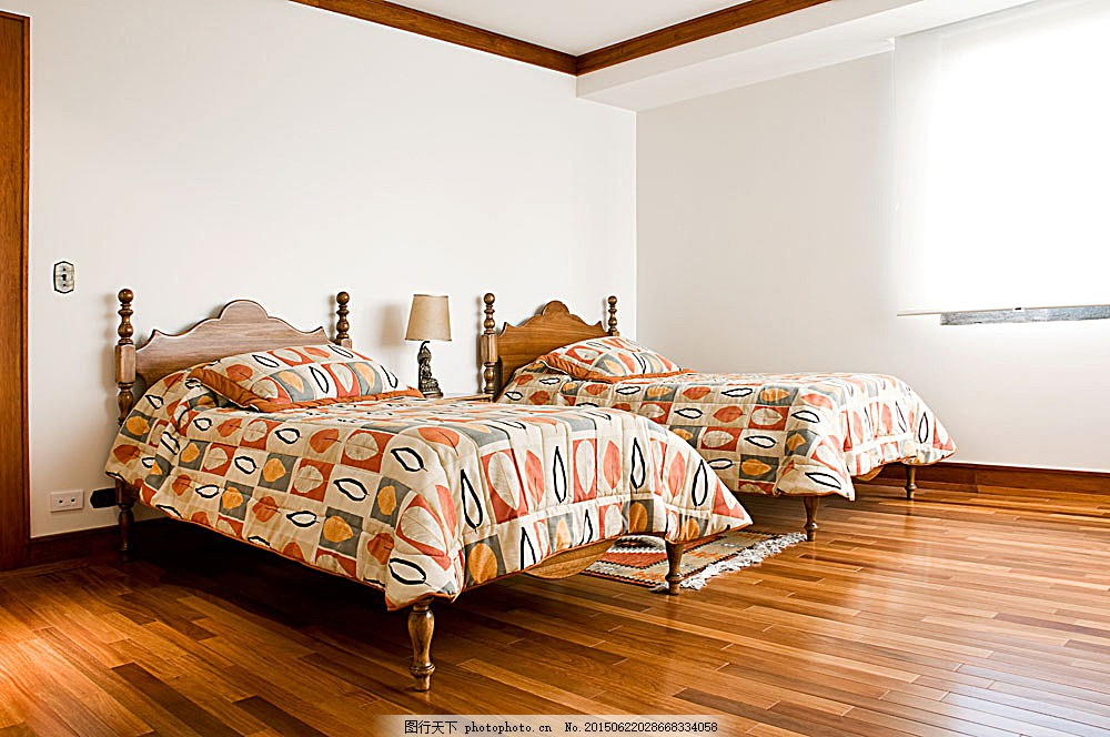 简约木地板卧室效果图