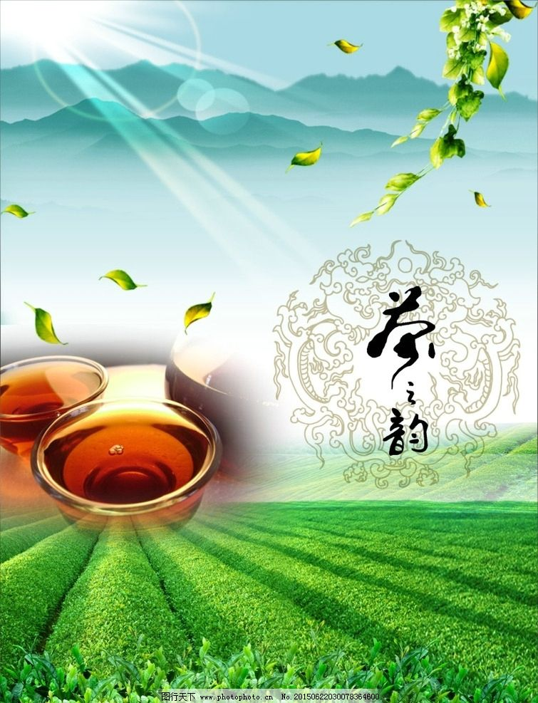 茶叶 海报 茶道广告 背景 宣传 设计 广告设计 海报设计 cdr
